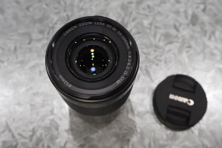EF-M55-200mm F4.5-6.3 IS STM