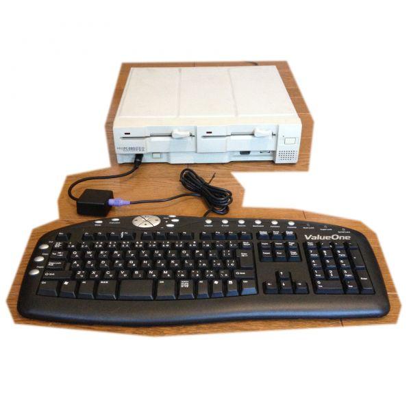 【即決送料無料】PC-8801へPS2キーボードを接続する変換器_画像2