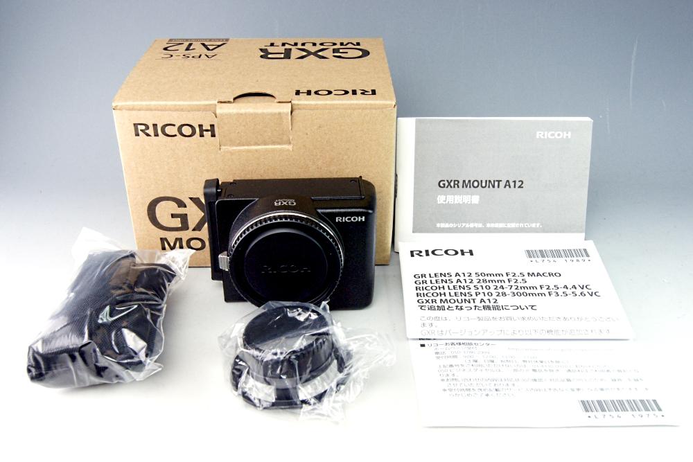 【美品】RICOH リコー GXR MOUNT A12☆ライカMマウント★元箱入 #1
