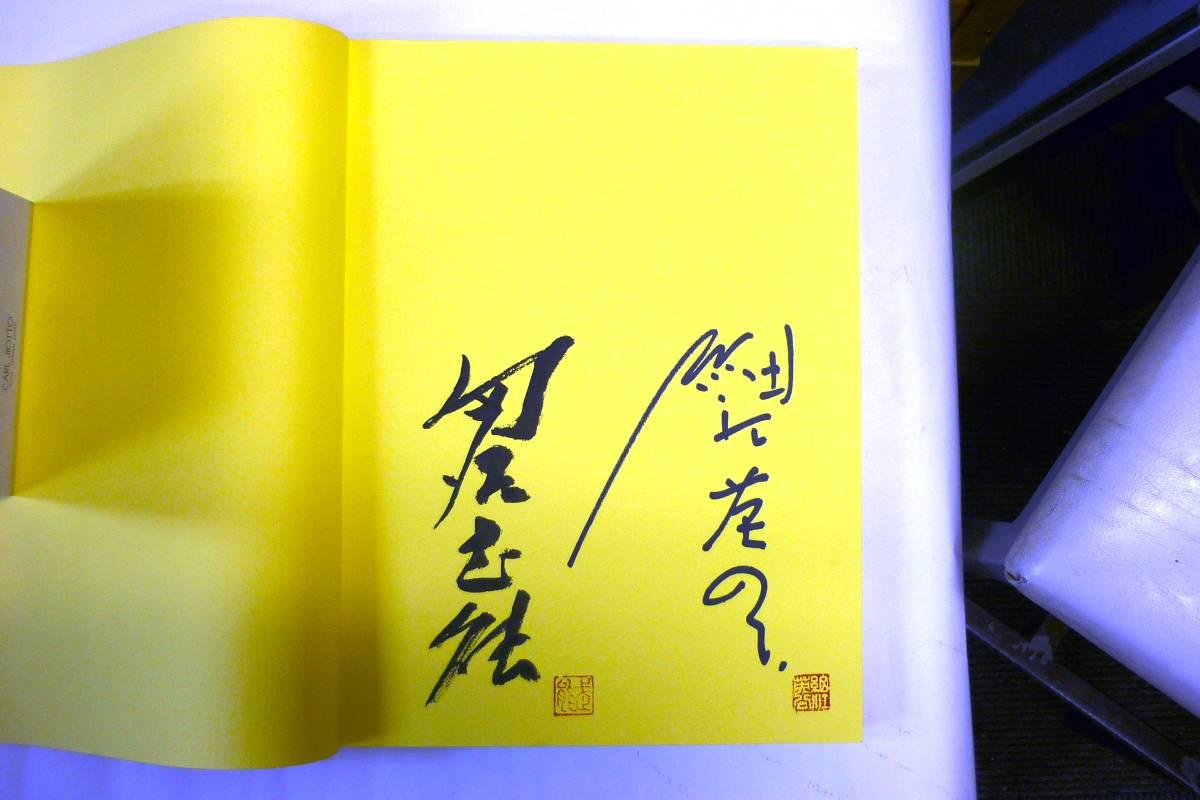 記録・創造する眼 戦後50年 日本現代写真展  細江英公・田名武能連名署名落款入  _画像4
