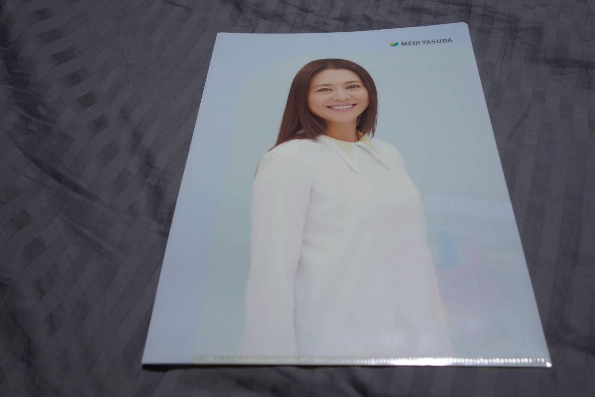 明治安田生命『小泉今日子さん』クリアファイル 非売品 送料込 キョンキョン