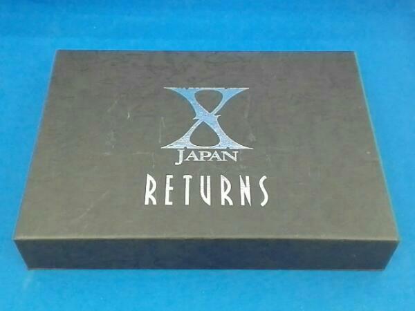 X JAPAN RETURNS 完全版 DVD-BOX ライブグッズの画像