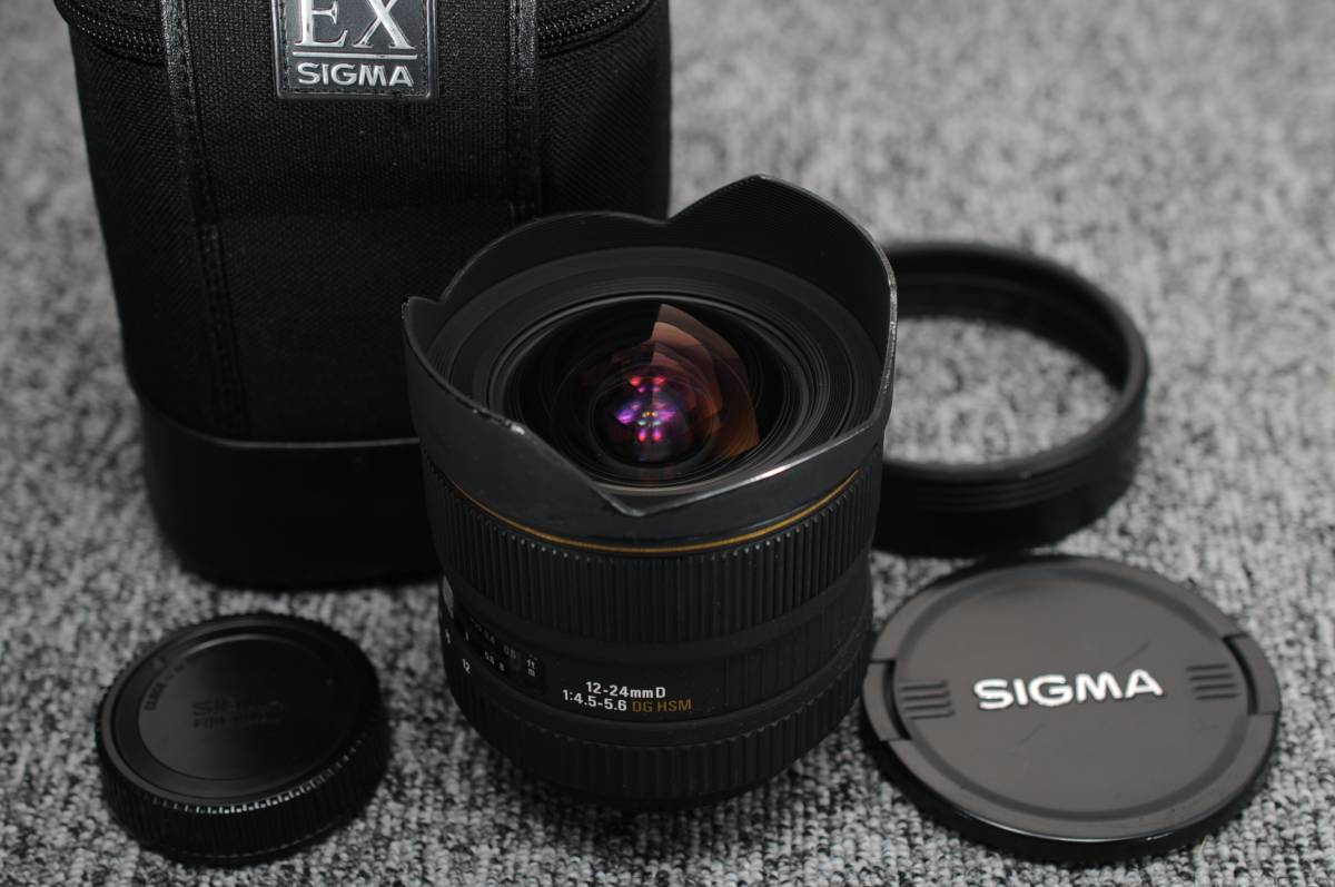 SIGMA シグマ 12-24mm 1:4.5-5.6 EX DG HSM NIKON ニコン用