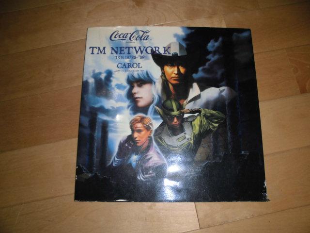TM NETWORK/小室哲哉/宇都宮隆/木根尚登//tour'88-'89 CAROL ツアーパンフレット//TMN/TMネットワーク