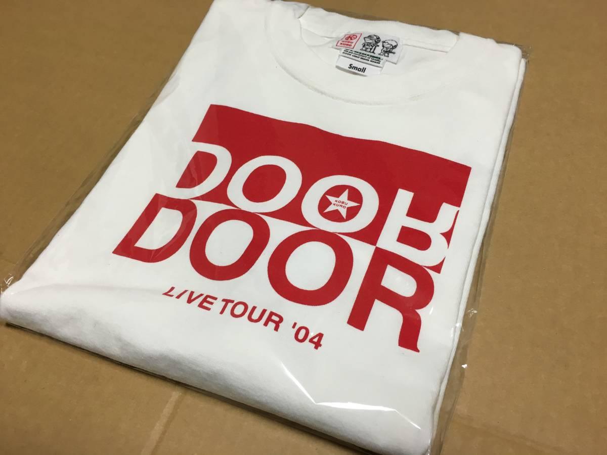 コブクロ★2004年★DOOR★Tシャツ★ホワイト×レッド