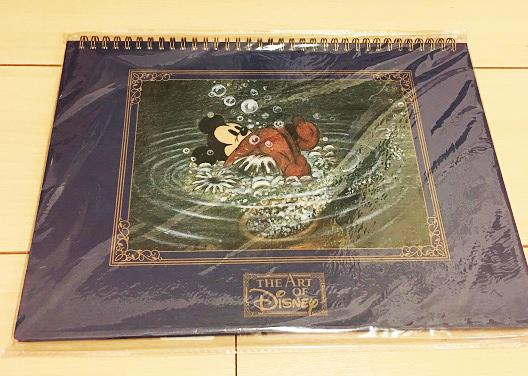 ディズニー ミッキー ファンタジア 魔法使いの弟子 スケッチブック TDR TDL ミッキーマウス ディズニーグッズの画像