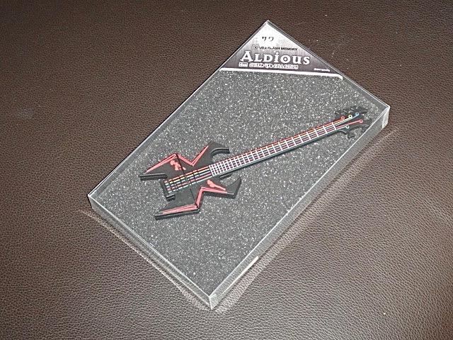 Aldious/USBメモリ/サワ/B.C. Rich/WMD Widow/アルディアス
