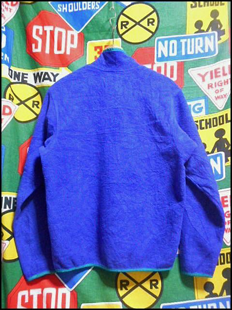 ★おすすめなサイズ感の1着★Made in USA製アメリカ制PatagoniaパタゴニアビンテージフリースジャケットスナップT90s90年代M古タグOLDタグ_画像3