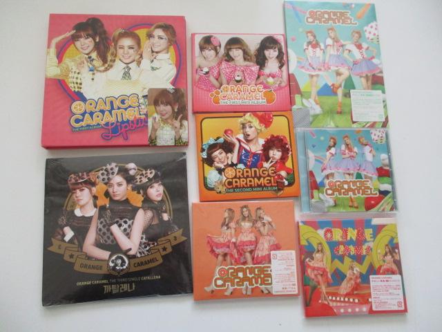 B51-60 ORANGE CARAMEL 8点セット CD+DVD・CD
