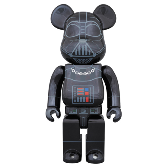 BE@RBRICK DARTH VADER CHROME Ver. 400% ベアブリック ダースベイダー 新品即決 MEDICOM TOY EXHIBITION 2015