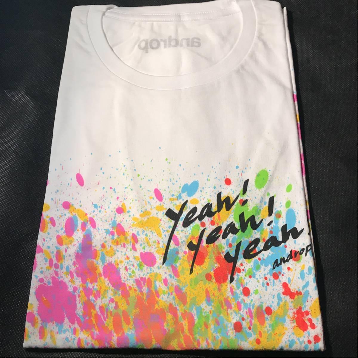 ◆androp グッズ Tシャツ Mサイズ ⑧【新品未使用】◆