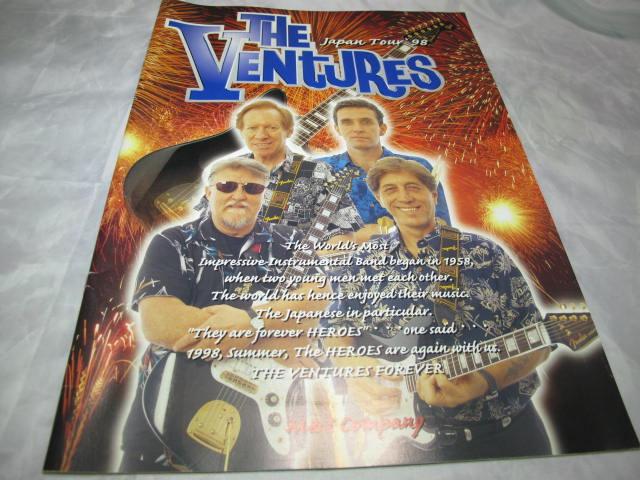 ベンチャーズ ツアーパンフレット 1998年