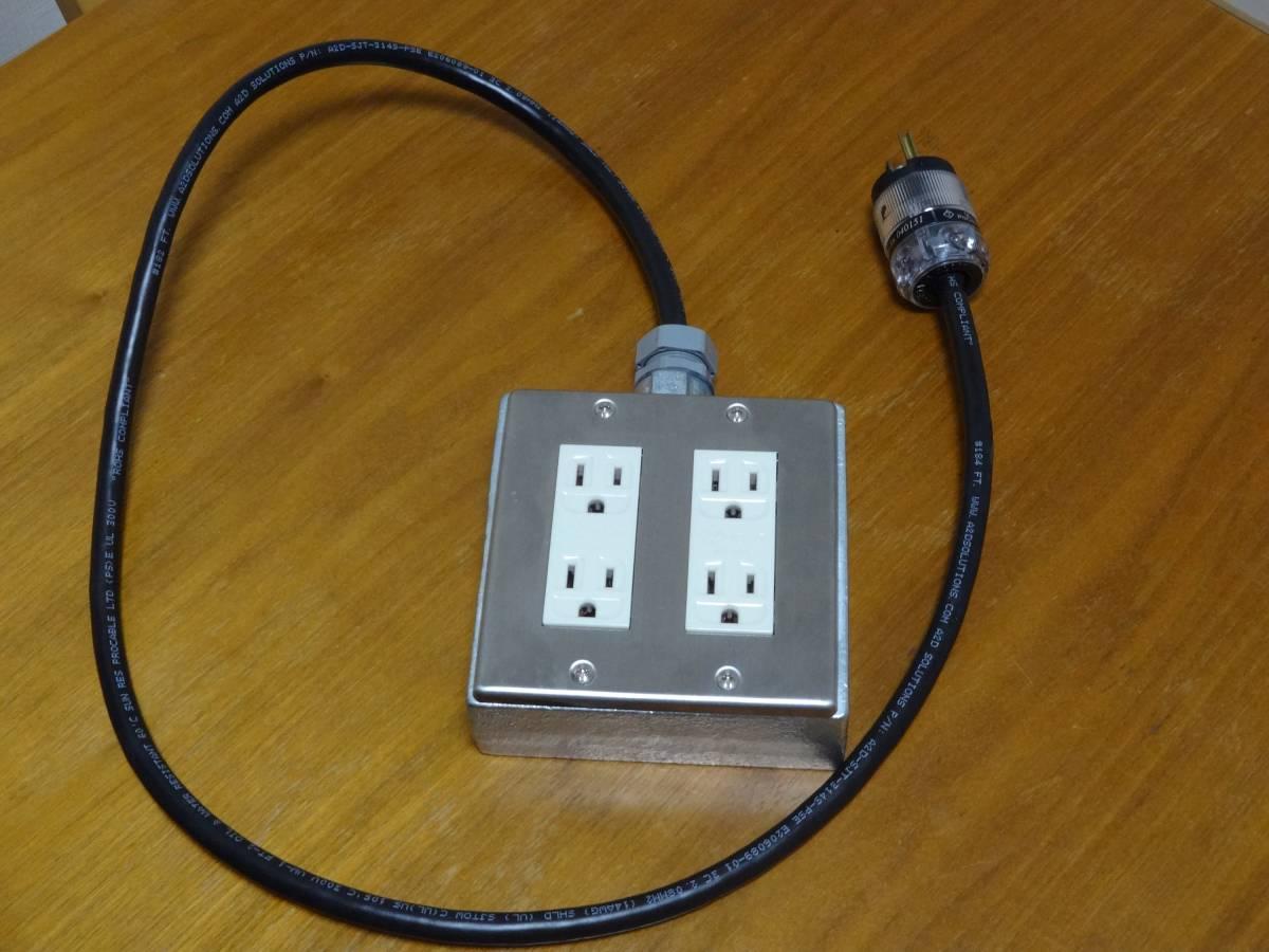 PRO CABLE 電源タップ WATTGATE-5266i