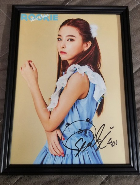 【Red Velvet】札幌雪祭りK-POP FESTIVAL会場限定配布 直筆サインポスター(A4サイズ)★スルギver