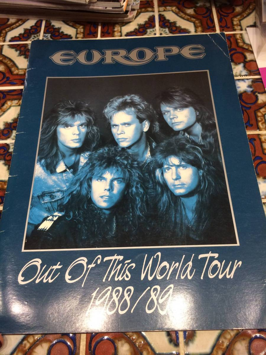 1988年 ツアーパンフ ヨーロッパ ERUROPE