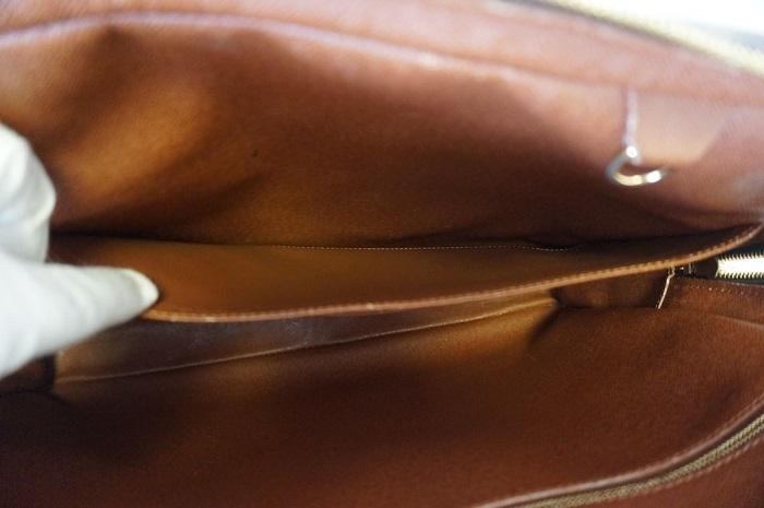 【良品 ベタ無】ヴィトン モノグラム ポルトドキュマン ヴォワヤージュ ビジネスバッグ ブリーフケース メンズ 書類かばん M40226_画像9