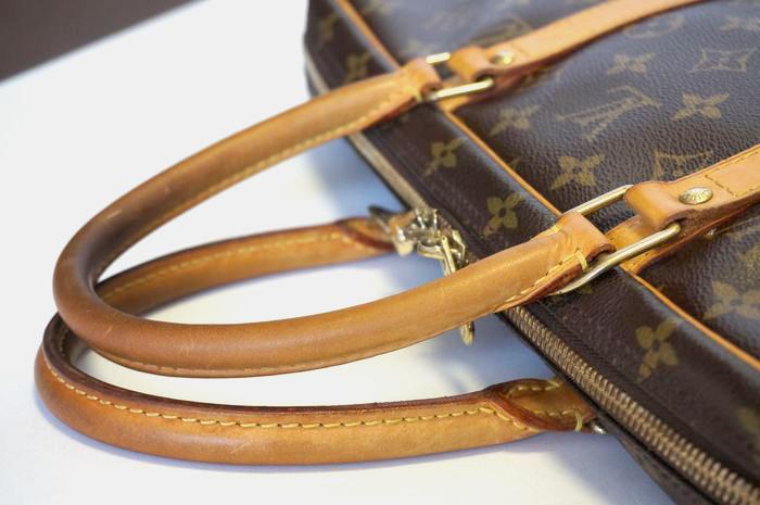 【良品 ベタ無】ヴィトン モノグラム ポルトドキュマン ヴォワヤージュ ビジネスバッグ ブリーフケース メンズ 書類かばん M40226_画像7