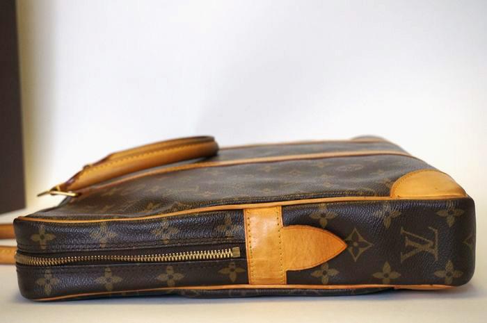【良品 ベタ無】ヴィトン モノグラム ポルトドキュマン ヴォワヤージュ ビジネスバッグ ブリーフケース メンズ 書類かばん M40226_画像6