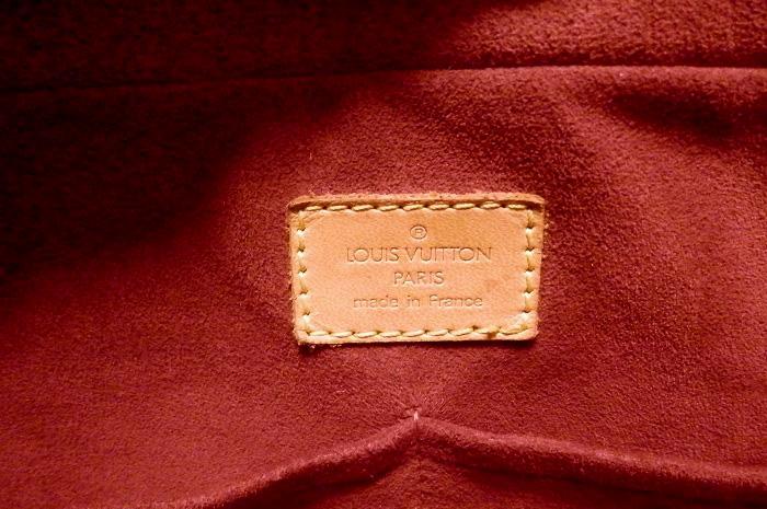 【本物】ルイヴィトン モノグラム ミュルティプリ ショルダーバッグ トートバッグ A4 鞄 M51162 _画像9