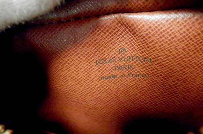 【極美品 ベタなし】ルイヴィトン モノグラム アマゾン ショルダーバッグ 斜め掛け M45236 ハガレ無_画像10
