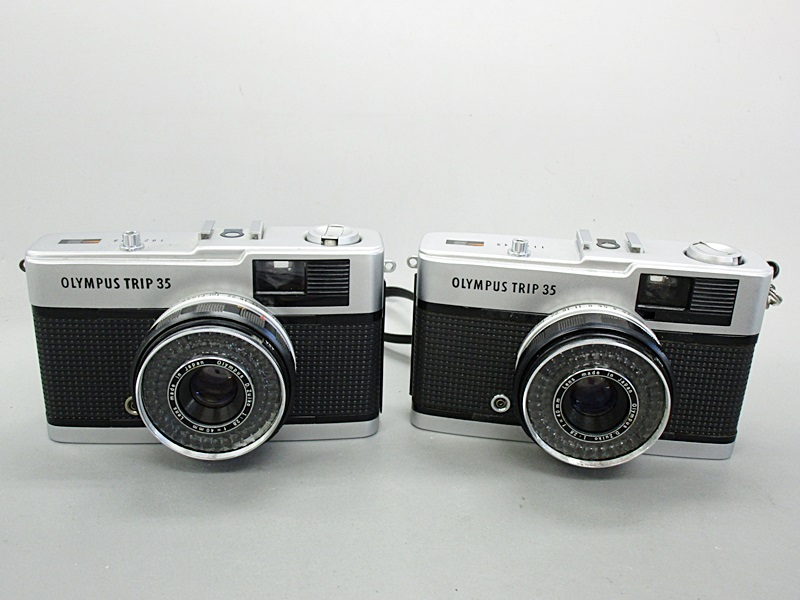 01/31-15 OLIMPUS オリンパス カメラ トリップ TRIP35 D.Zuiko 1:2.8 f=40mm 2点 セット