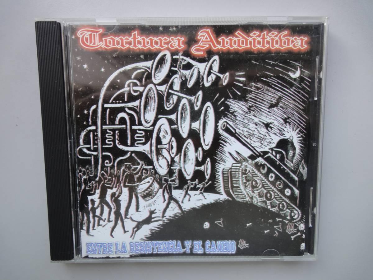 美品★ TORTURA AUDITIVA CD オリジナル盤 メキシコハードコア ラテン MASSACRE68 GISM DISCHARGE PUNK GAUZE RANCID パンク CLASH _オリジナル盤