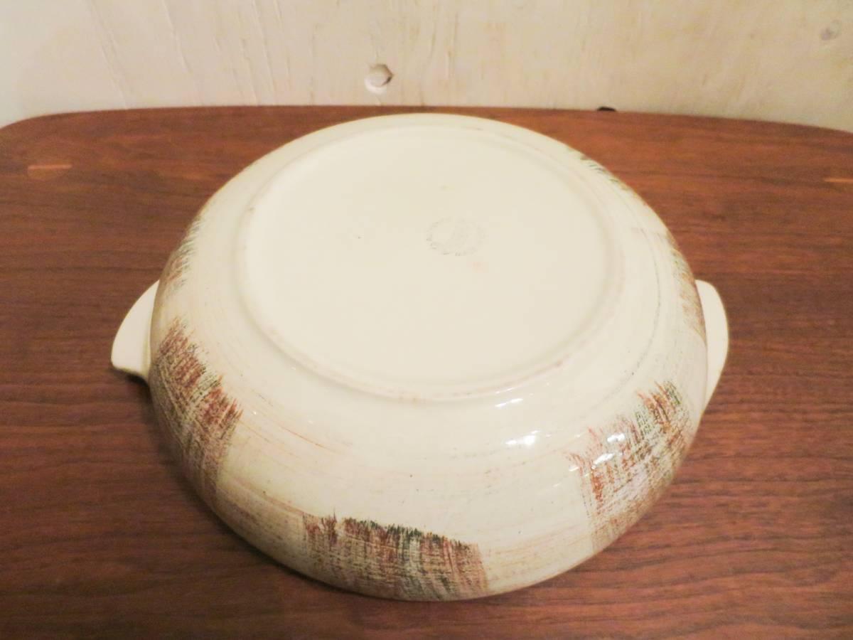 ビンテージ 50's Vernon Kilns社製 陶器キャセロールディッシュ ミッドセンチュリー vernonware ココット アメリカ ヴィンテージ 小物入れ_画像7