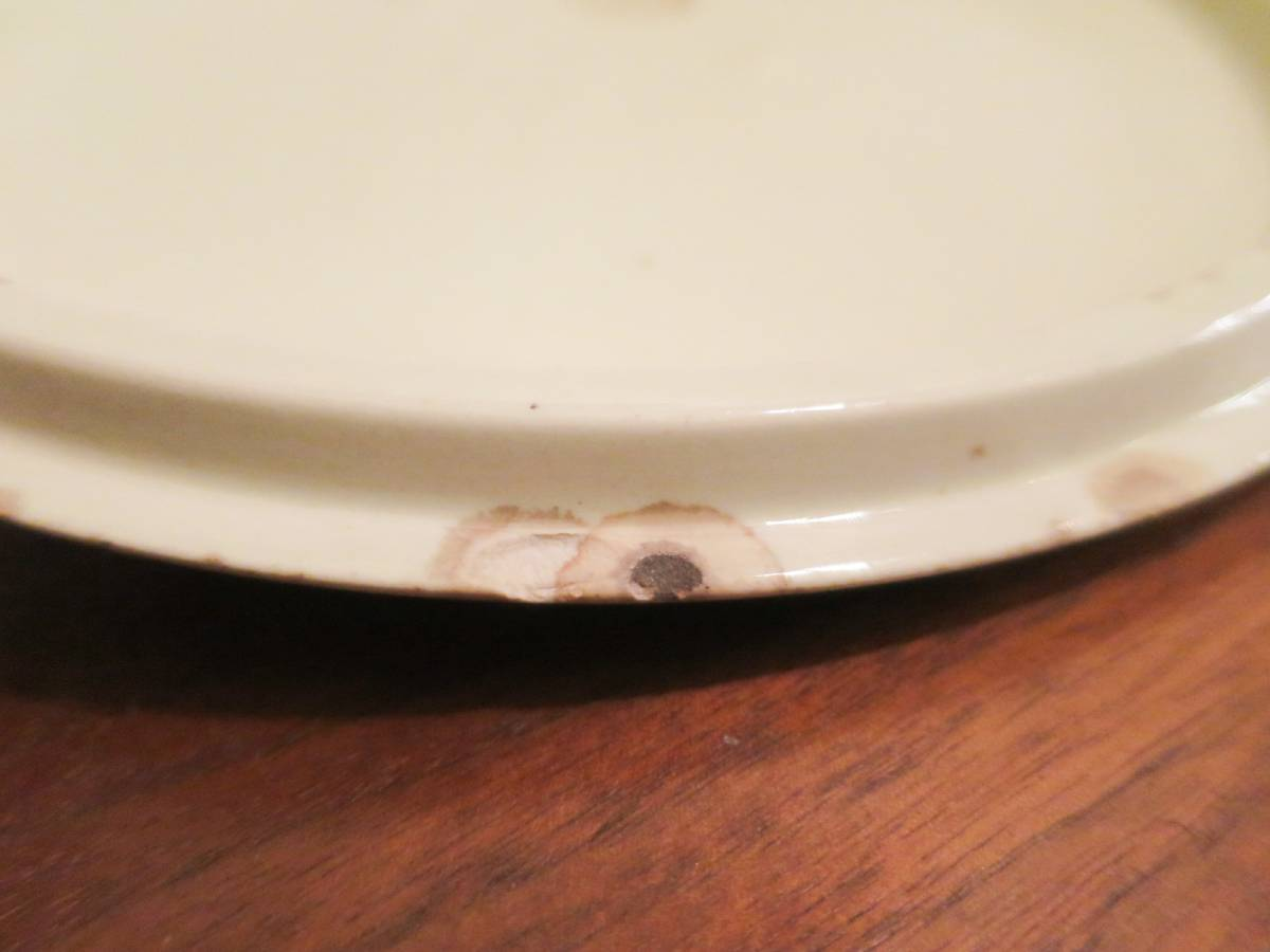 ビンテージ 50's Vernon Kilns社製 陶器キャセロールディッシュ ミッドセンチュリー vernonware ココット アメリカ ヴィンテージ 小物入れ_画像9