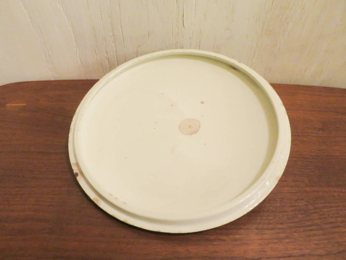 ビンテージ 50's Vernon Kilns社製 陶器キャセロールディッシュ ミッドセンチュリー vernonware ココット アメリカ ヴィンテージ 小物入れ_画像10