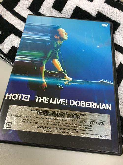 布袋寅泰 DVD THE LIVE! DOBERMAN