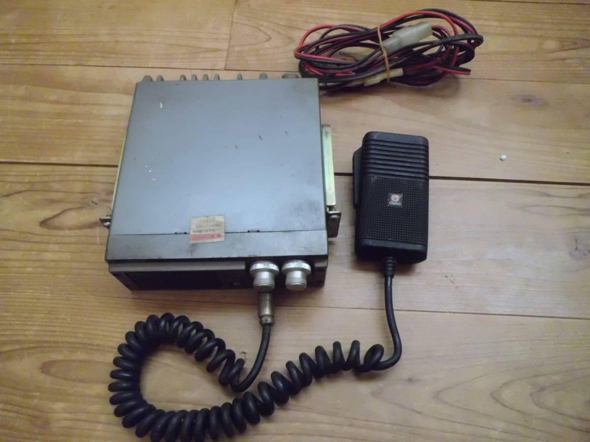 クラリオン 極超短波簡易無線電話装置 JC-105T型 アマチュア無線機 マイク付き 昭和56年製 CSITK 150・5F3-1-4 動作未確認_画像2