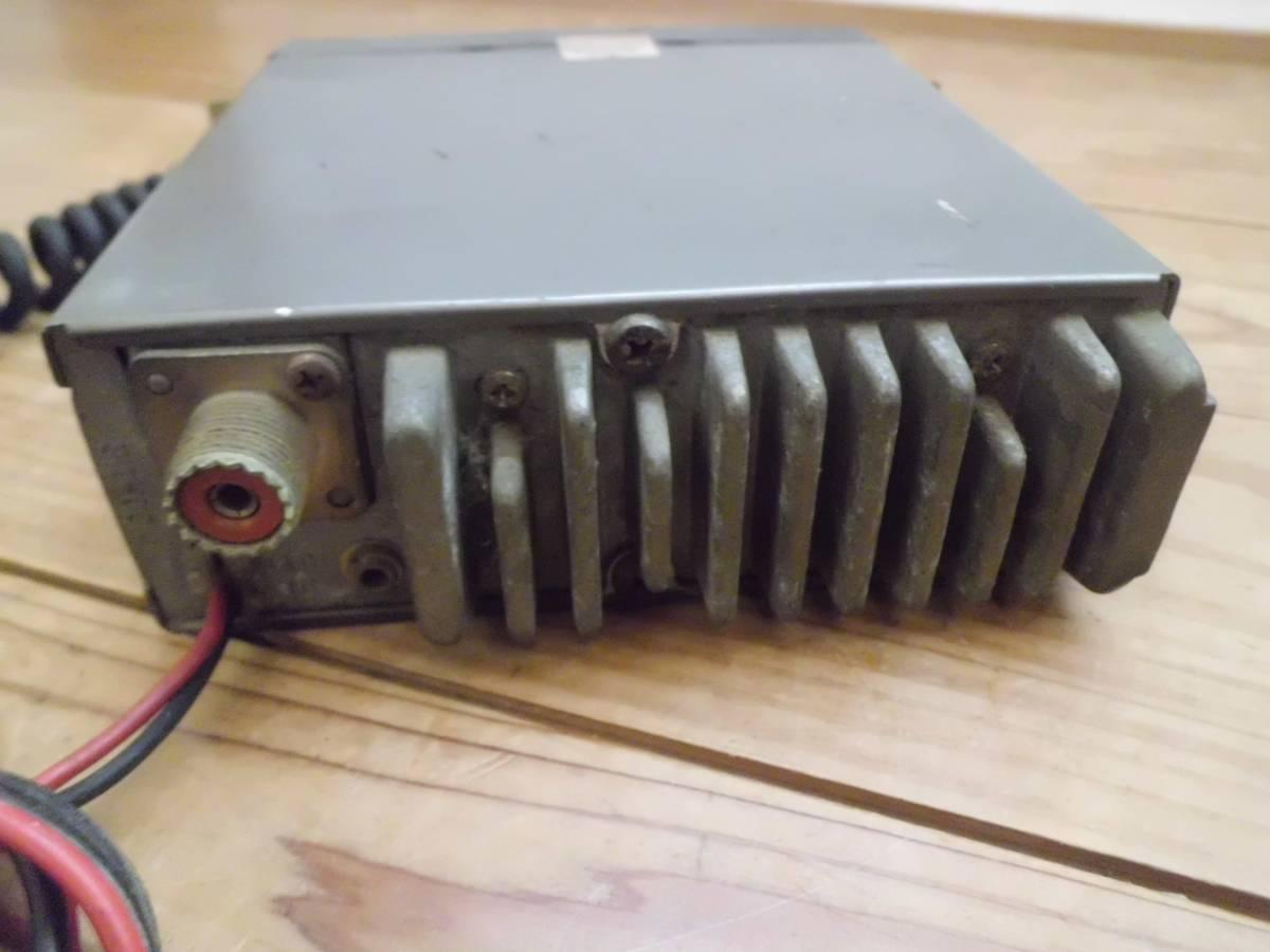 クラリオン 極超短波簡易無線電話装置 JC-105T型 アマチュア無線機 マイク付き 昭和56年製 CSITK 150・5F3-1-4 動作未確認_画像5