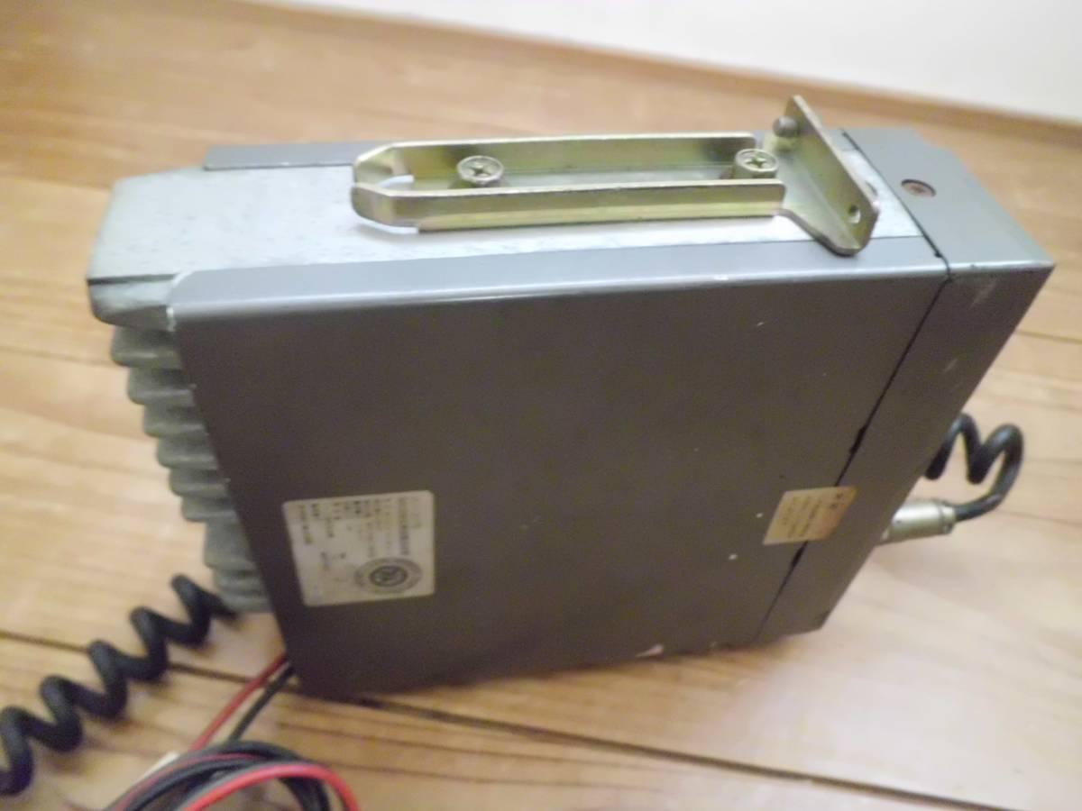 クラリオン 極超短波簡易無線電話装置 JC-105T型 アマチュア無線機 マイク付き 昭和56年製 CSITK 150・5F3-1-4 動作未確認_画像6