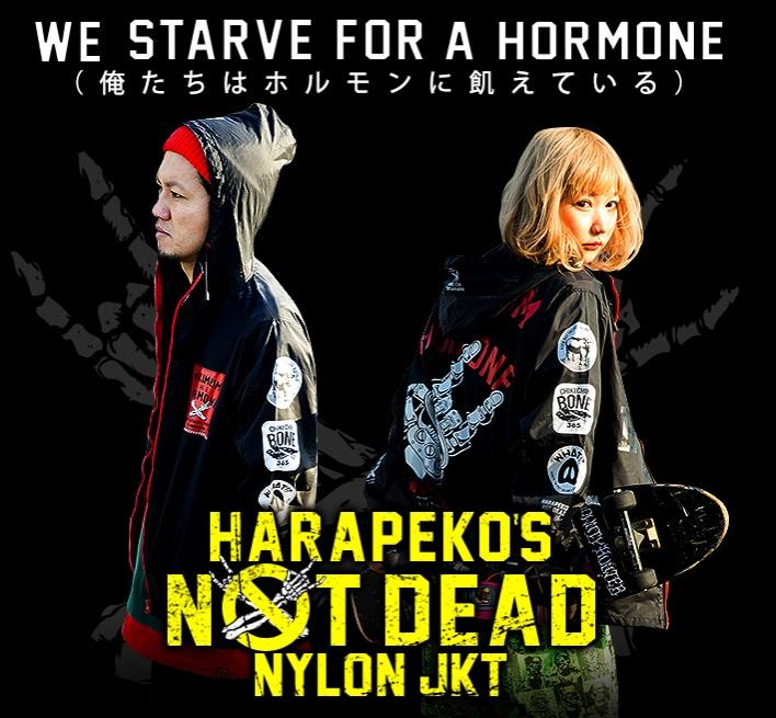 マキシマムザホルモン HARAPEKO'S NOT DEAD ナイロンジャケット XL 新品 ホルモン ナイロン 10-FEET SIM pizza ピザ ハイスタ コーチ