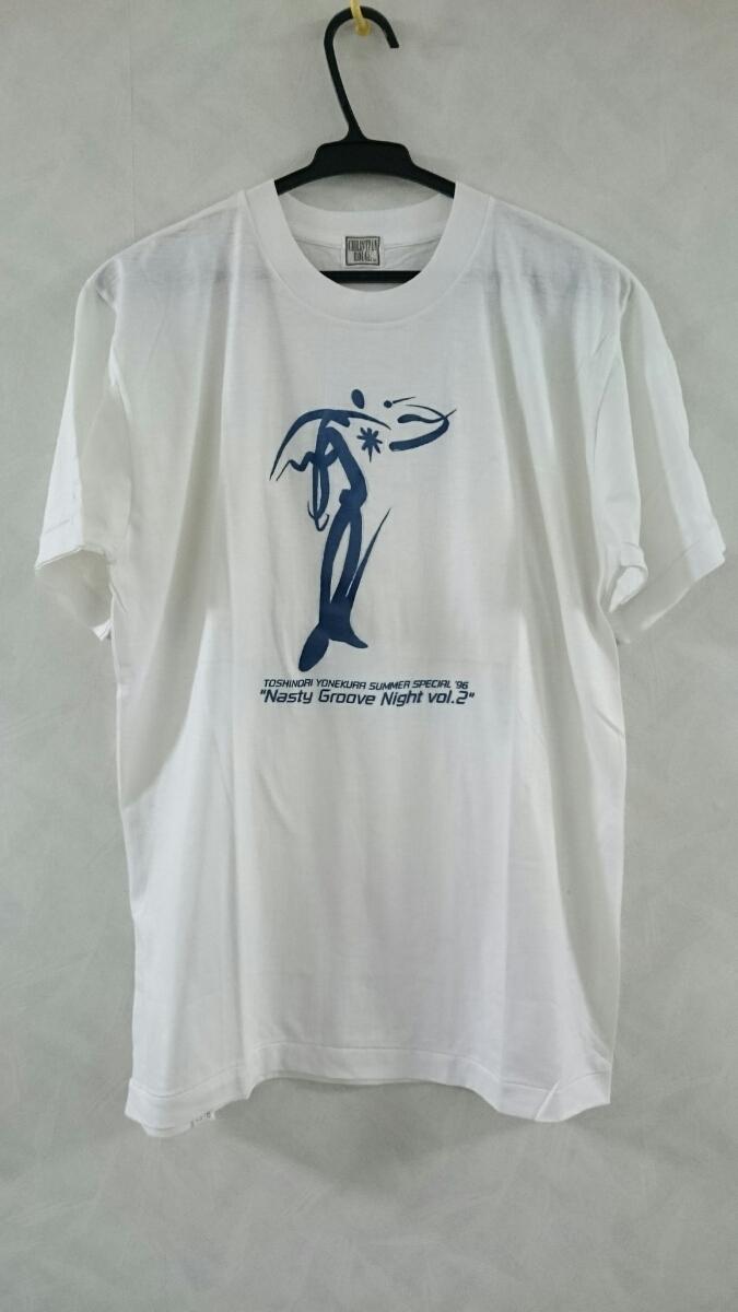未使用品 米倉利紀 SUMMER SPECIAL'96 Nasty Groove Night vol.2 Tシャツ サイズM 90s
