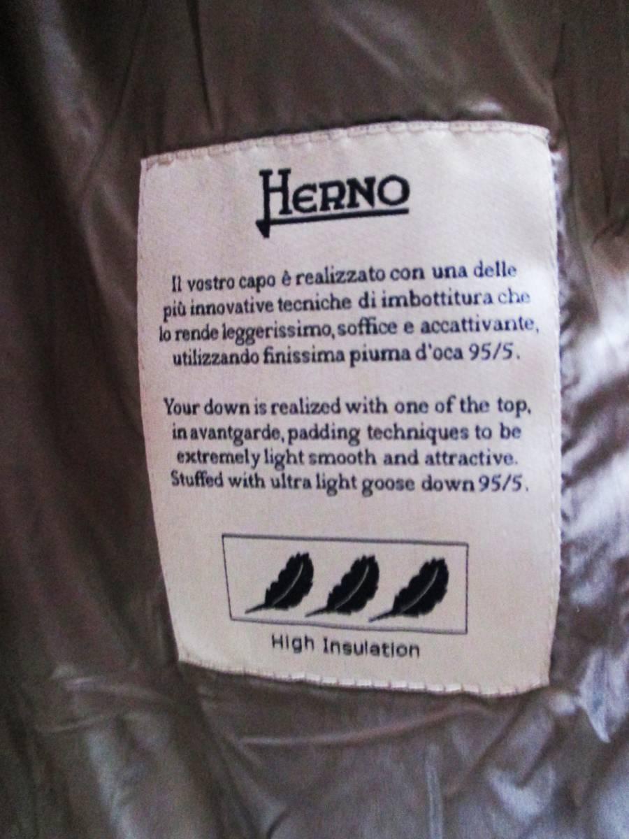 HERNO Laminar ヘルノ★極美品★ダウン コート・サイズ42・Mサイズ程度_画像3