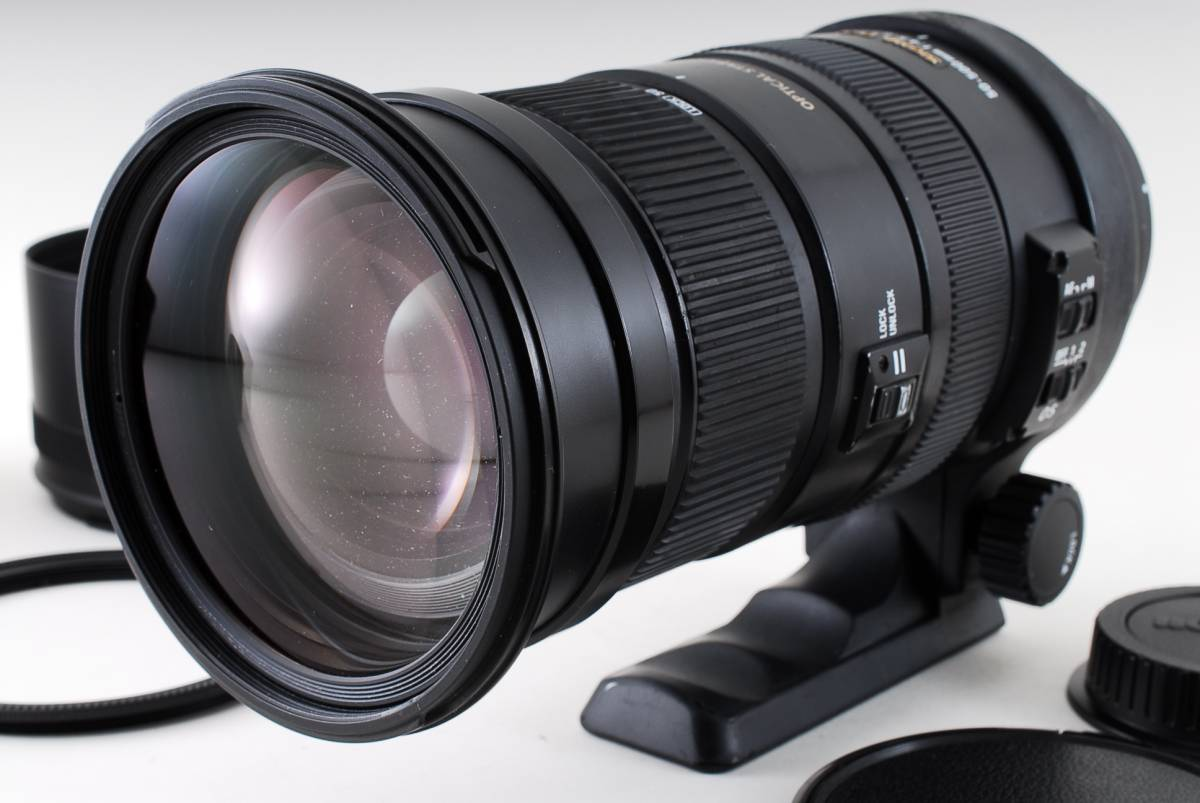 ★動作絶好調★シグマ SIGMA APO 50-500mm f4.5-6.3 DG OS HSM キヤノン用 #409