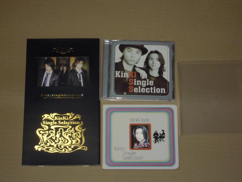 ヤフオク! - 美品 初回限定版 KinKi Kids Single Selection ...