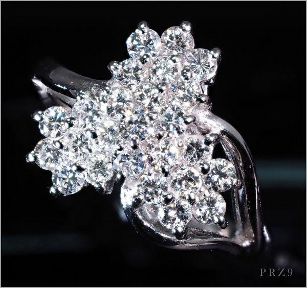 【厳選】【定価150万】最高級 上位品質 ダイヤモンド リング 指輪 《限定1点》 [0.75ct] PT900 プラチナ KRZ9 18金【返品対応可】