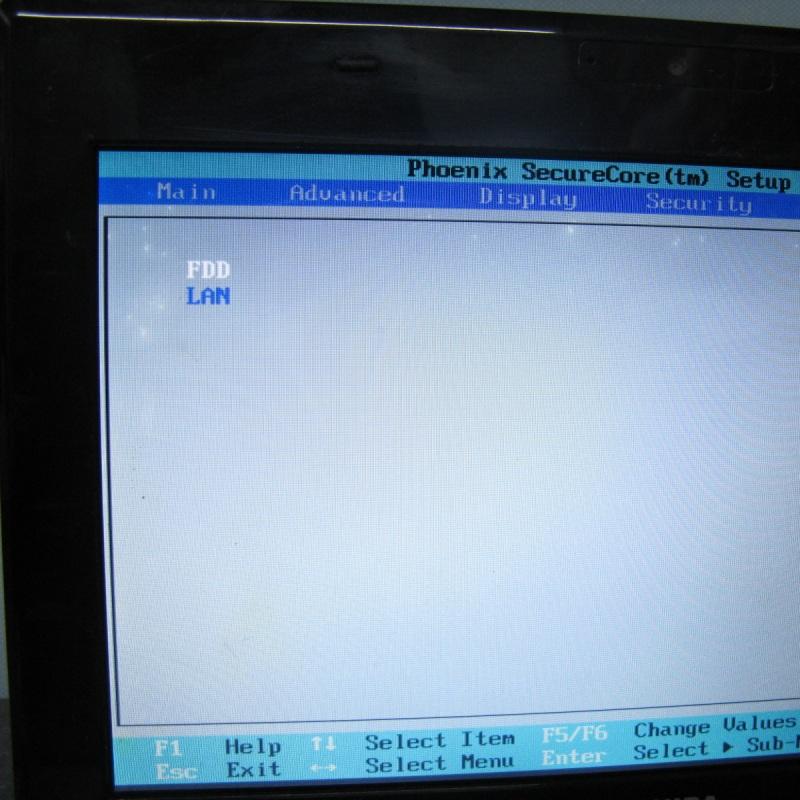 東芝 10.1インチ N300/02DC BIOS OK ジャンクで_画像6