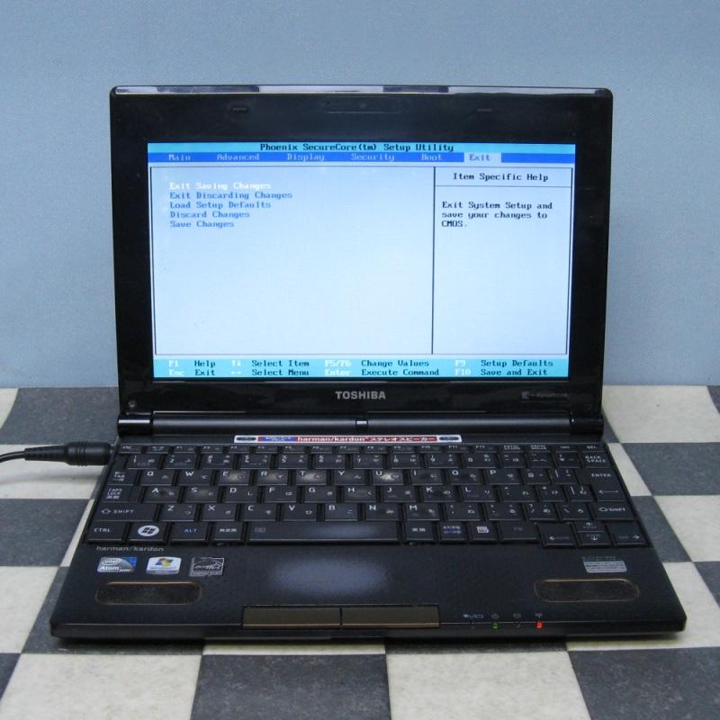 東芝 10.1インチ N300/02DC BIOS OK ジャンクで