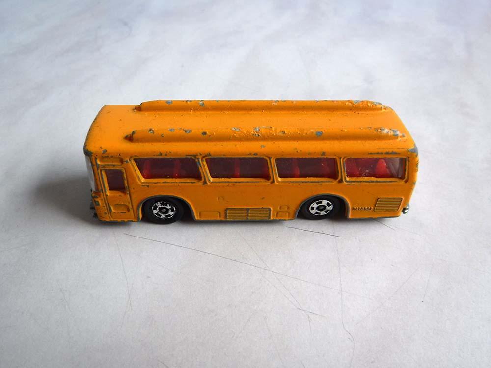 tomicaFUSO HATO BUSトミカ日本製バス自動車ミニカー昭和レトロ玩具ジャンク中古ですがいい感じです。_画像3