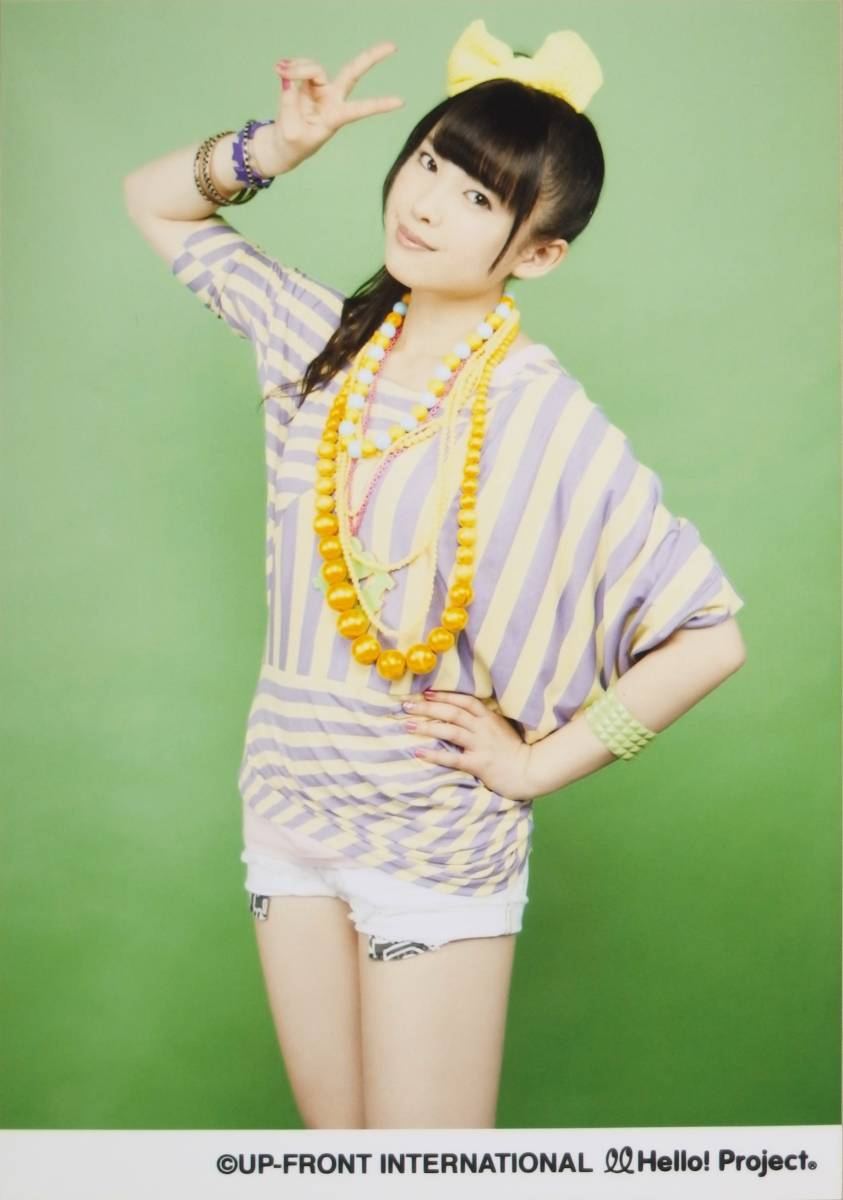 ℃-ute【中島早貴】 L判生写真 「桃色スパークリング」発売記念パート5