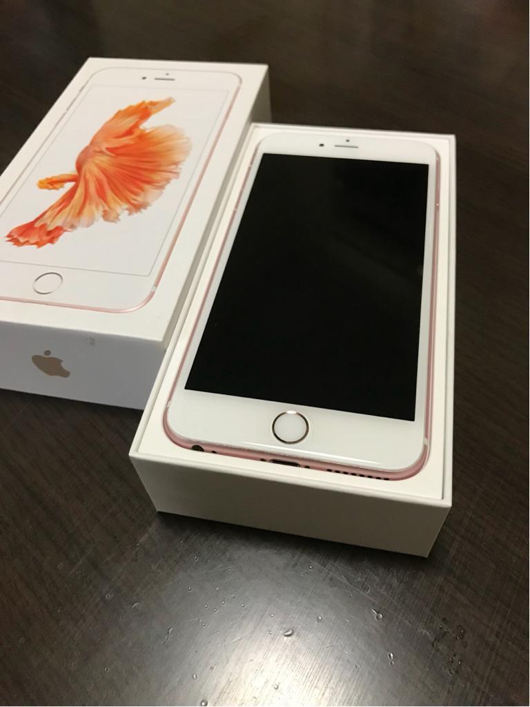 【美品】iPhone6s 64GB ピンクゴールド 美品 au 本体