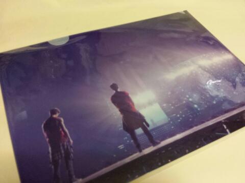 東方神起【WITH】クリアファイル ★アルバム購入特典★公式/非売品 ライブグッズの画像