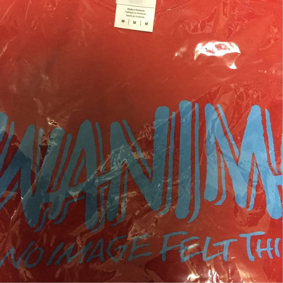 貴重 wanima pizza of death ロゴ Mサイズ Tシャツ ピザオブデス ken yokoyama 横山健 hi-standard ハイスタンダード ライブグッズの画像