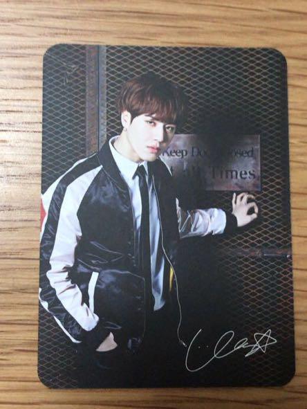 GOT7 ユギョム 2016 JYPN フォトカード