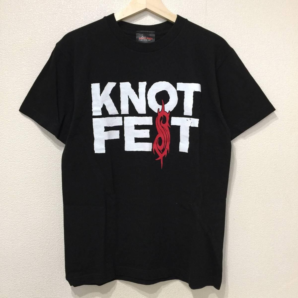 SLIPKNOT スリップノット 2014年 KNOTFEST JAPAN 幕張メッセ ツアー Tシャツ M 検索》バンド スラッシュ メタル UK ロック イギリス