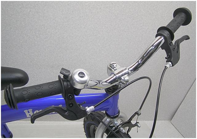 O-1【福岡県久留米】へんしんバイク 青 ペダルなし自転車 Henshin バランスバイク ランニングバイク_画像5