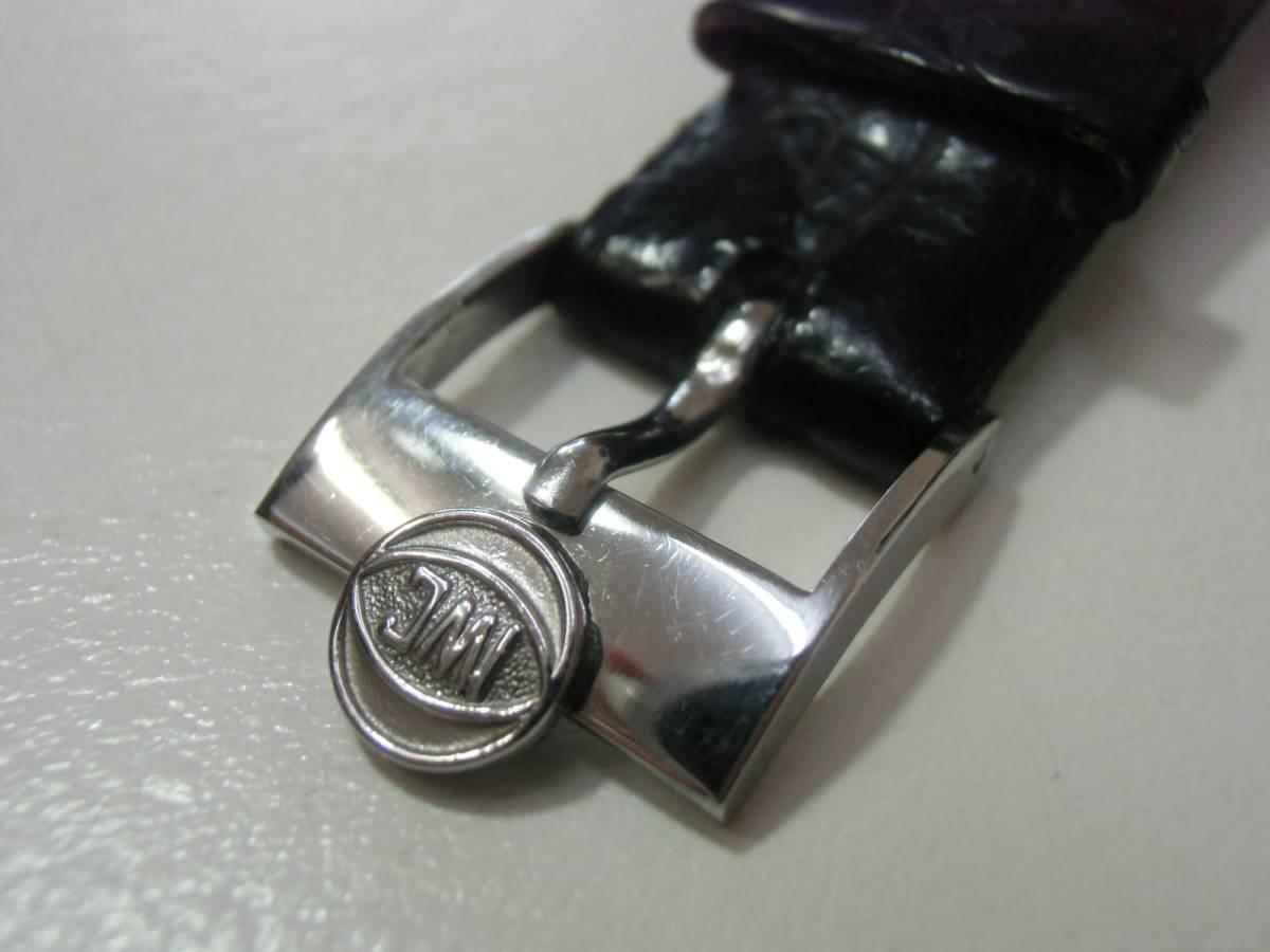 IWC ボールロゴ 15mm 尾錠 ステンレス レザーベルト インターナショナルウォッチカンパニー